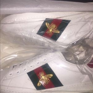 Gucci Tennis Shoes White